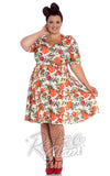 Hell Bunny Harvest Dress Curvy pinup