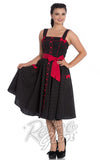 Hell Bunny Martie Dress in Black