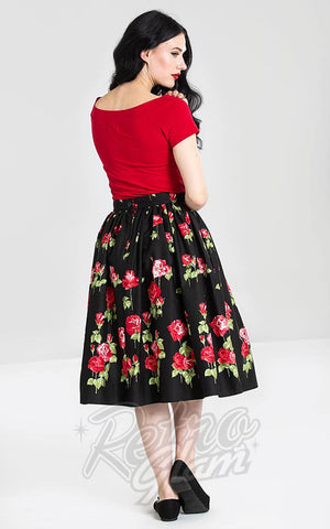 Hell Bunny Antonia Skirt back