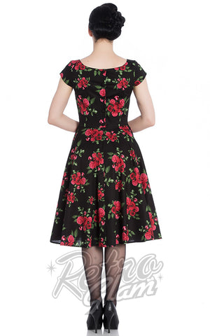 Hell Bunny Croisette 50's Dress back