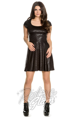 Spin Doctor by Hell Bunny Neptune Skater Dress