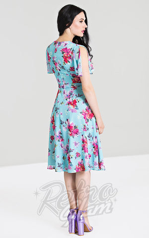 Hell Bunny Primavera Dress back