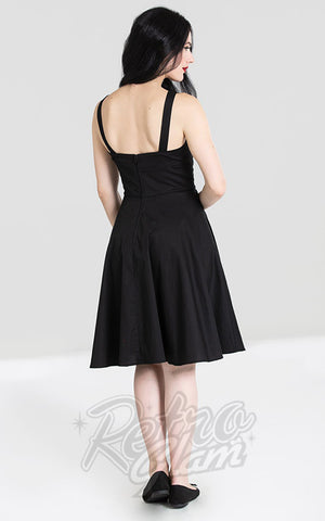 Hell Bunny Thumper MId Dress back