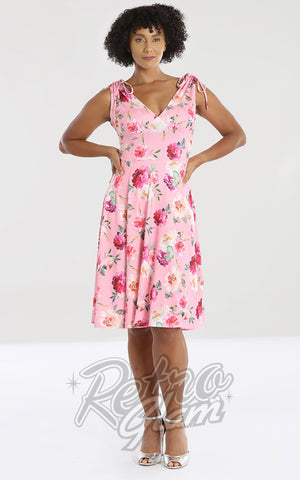 Hell Bunny Ana Rose Dress floral
