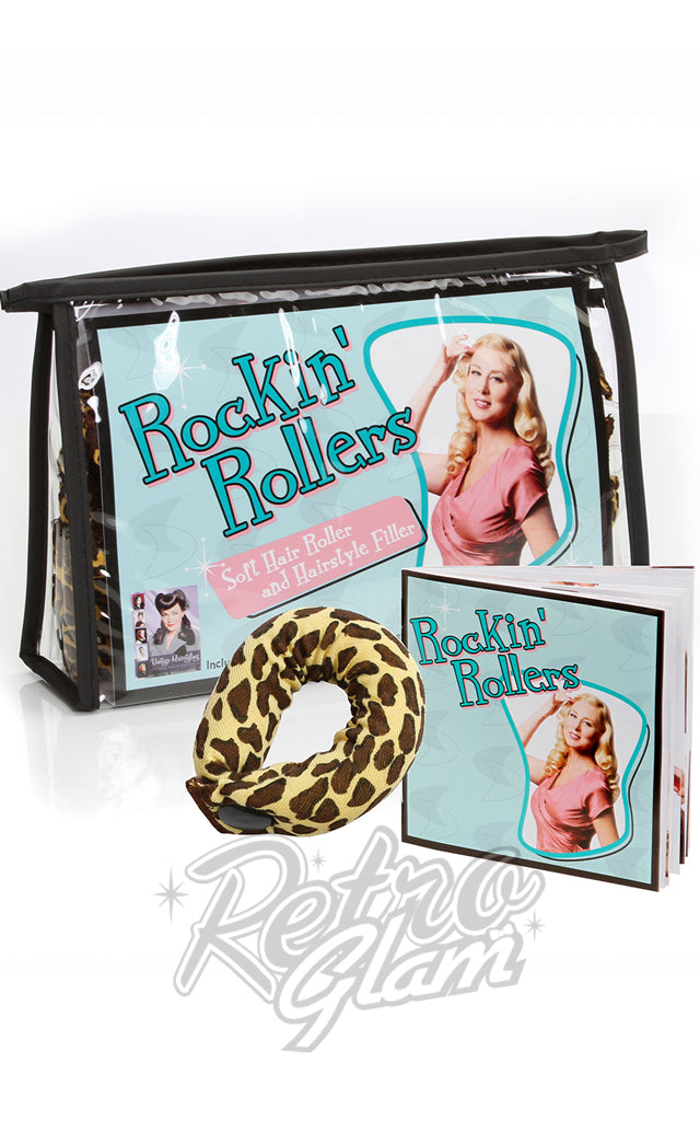 Leopard Rockin Rollers and Hairstyle Fillers