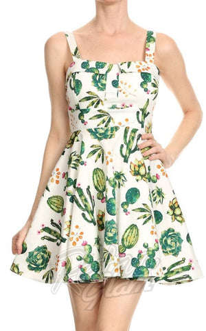 00c8414c3fc ... Ixia Pin-up Cruiser Dress in Cactus Print