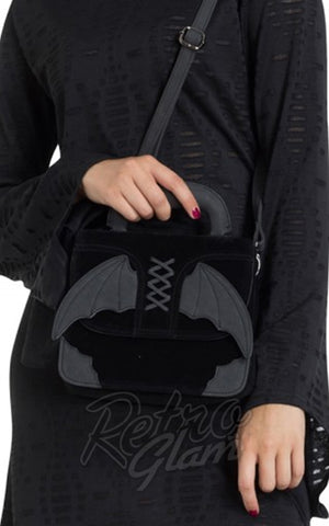 Jawbreaker Bat Cross Body Handbag