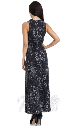 Jawbreaker Ethereal Nature Maxi Dress back