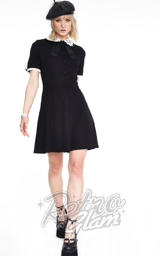 Jawbreaker Lace Collar Dress