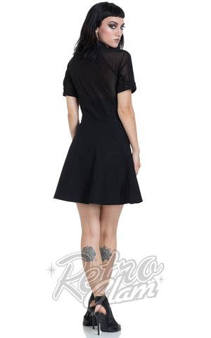 Jawbreaker Bengaline Collar Dress back