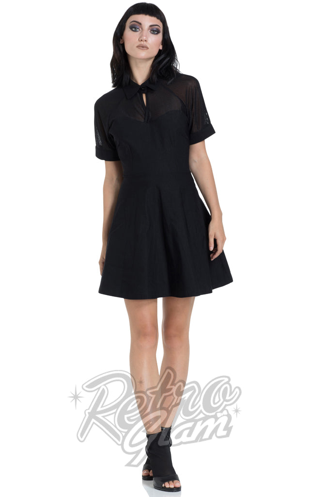 Jawbreaker Bengaline Collar Dress