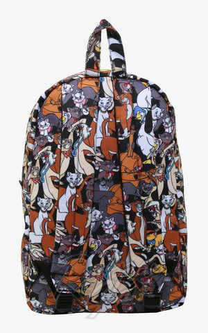 Loungefly Disney Aristocats All Over Character Backpack back
