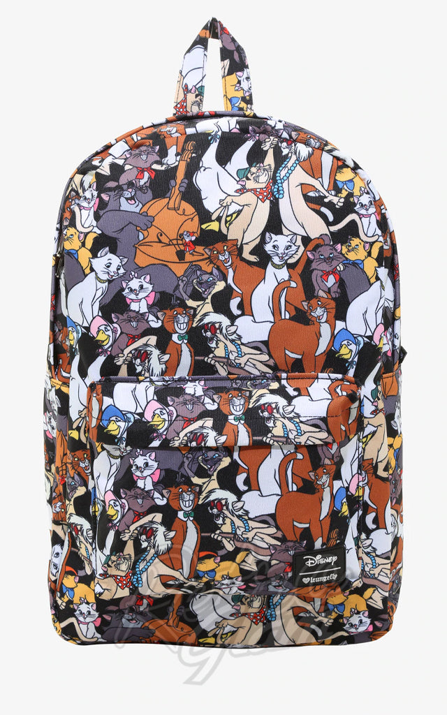 Loungefly Disney Aristocats All Over Character Backpack