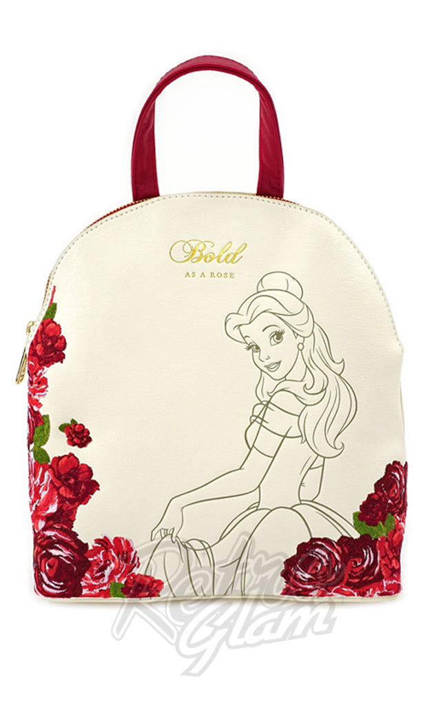 Loungefly x Disney Bold Belle Mini Backpack