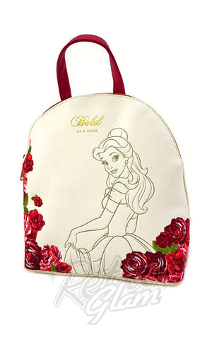 Loungefly x Disney Bold Belle Mini Backpack side