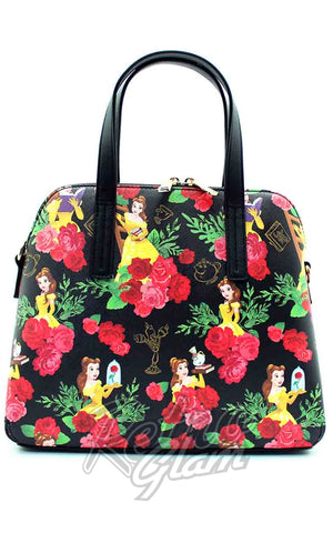 Loungefly Belle Floral Handbag back