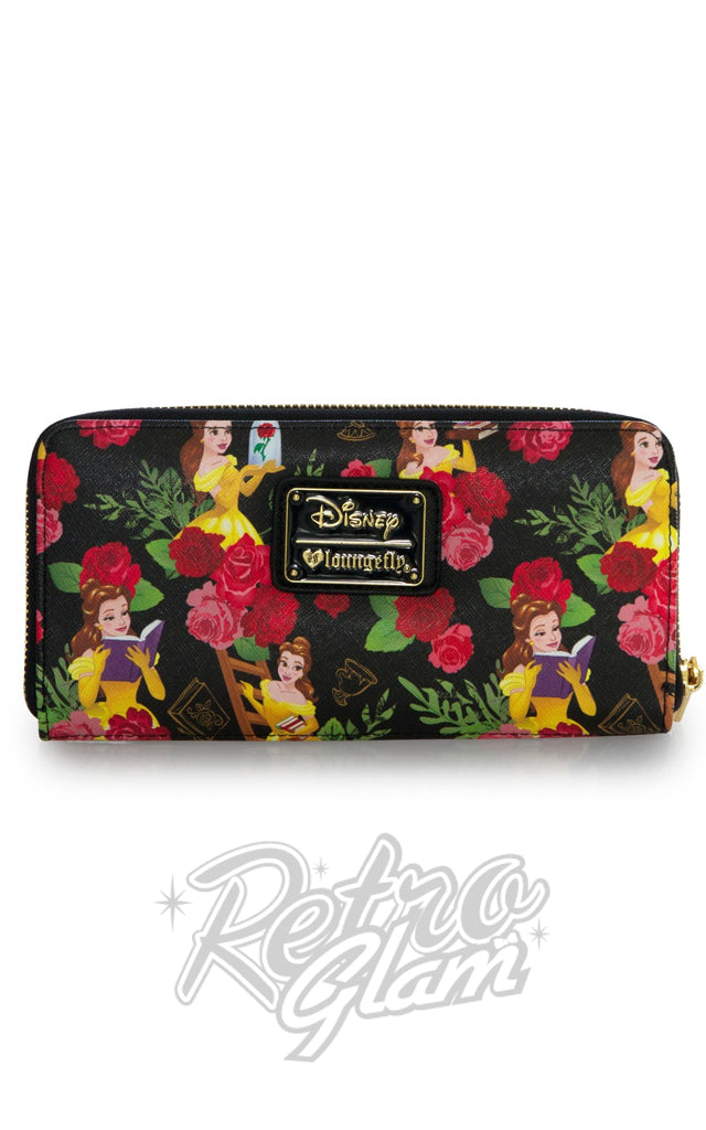 Loungefly Belle Floral Wallet