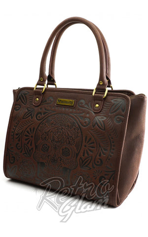 Loungefly Sugar Skull Brown HandBag
