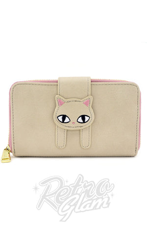 Loungefly Beige Cat Eyes Wallet