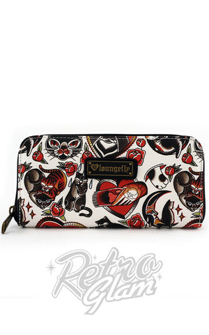 Loungefly Cat Tattoo Flash Wallet