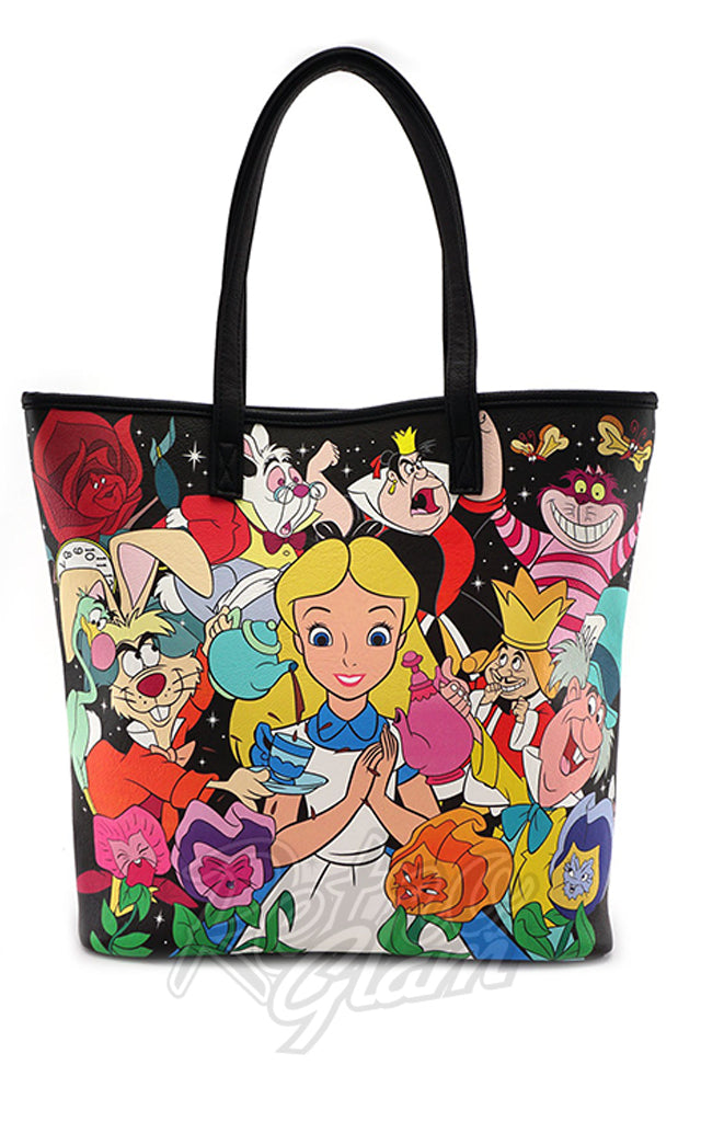 Loungefly Disney Alice Character Print Tote Bag