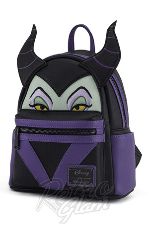 Loungefly Disney Maleficent Mini Backpack side