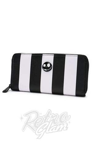 Loungefly The Nightmare Before Christmas Striped Wallet side