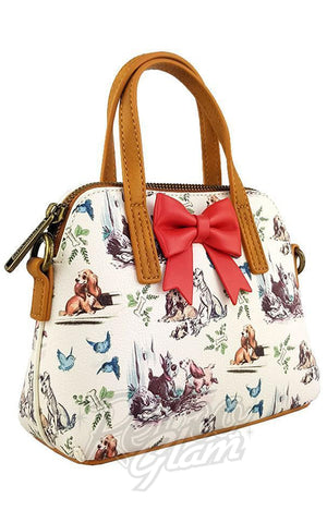 Loungefly Lady & the Tramp Mini Bow Handbag side