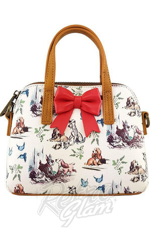 Loungefly Lady & the Tramp Mini Bow Handbag