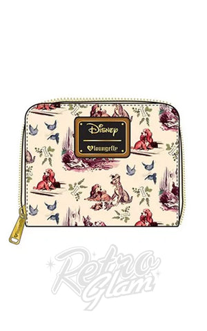 Loungefly Lady & the Tramp Wallet