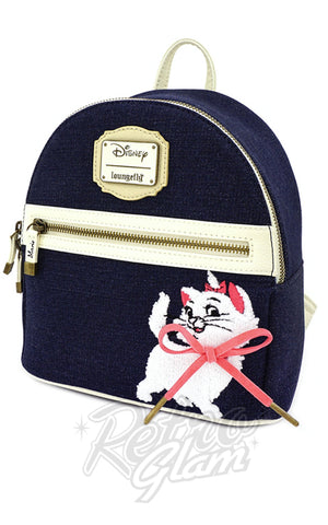 Loungefly x Disney Marie Denim Mini Backpack - Pre-Order