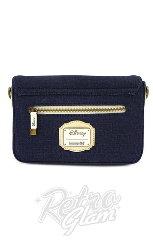 Loungefly x Disney Marie Denim Crossbody Bag