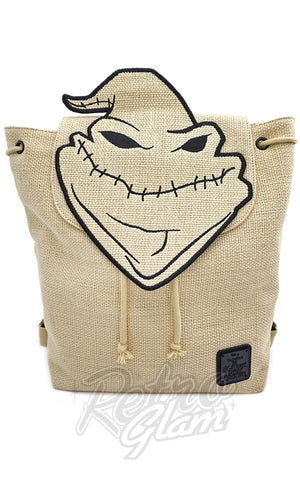 Loungefly X Nightmare Before Christmas Oogie Boogie Burlap Backpack - Pre-Order