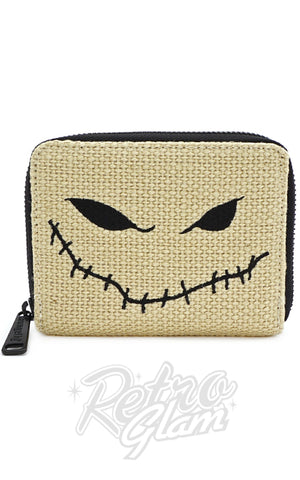 Loungefly x Nightmare Before Christmas Oogie Boogie Burlap Wallet - Pre-Order