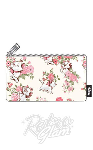 Loungefly Disney Marie Floral Makeup/Pencil Case