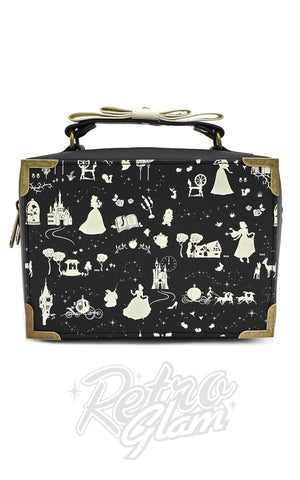 Loungefly X Disney Black & White Multi Princess Box handbag