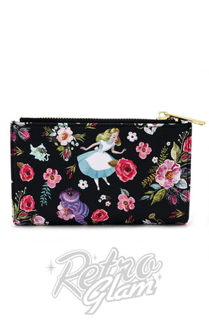 Loungefly Disney's Alice Character Floral Wallet