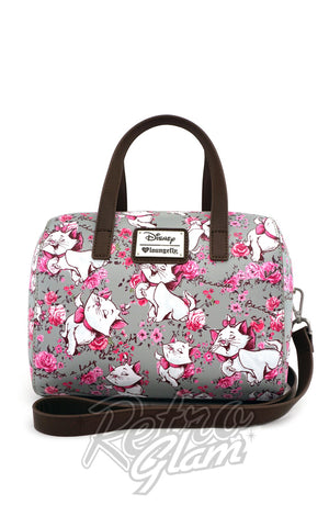 Loungefly Disney's Marie Aristocats Floral Duffle Bag