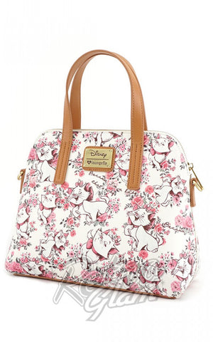 Loungefly Disney's Aristocats Marie Floral Cross Body Bag