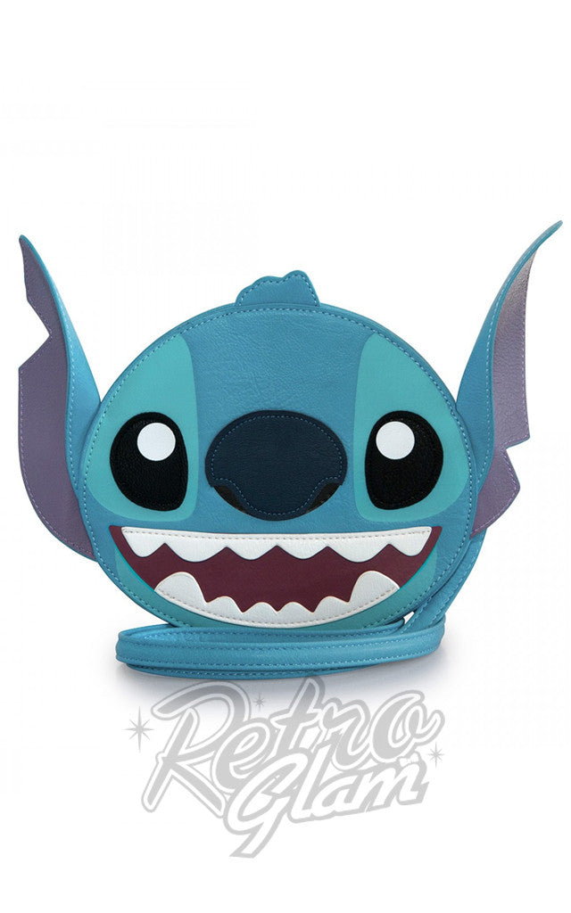 Loungefly Disney Stitch Big Face Crossbody Bag