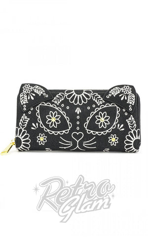 Loungefly Sugar Skull Cat Wallet