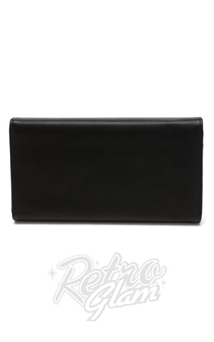 Lux de Ville Getaway Wallet matt black back