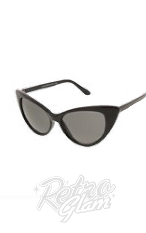 Black Cat Eye Sunglasses Style 9498