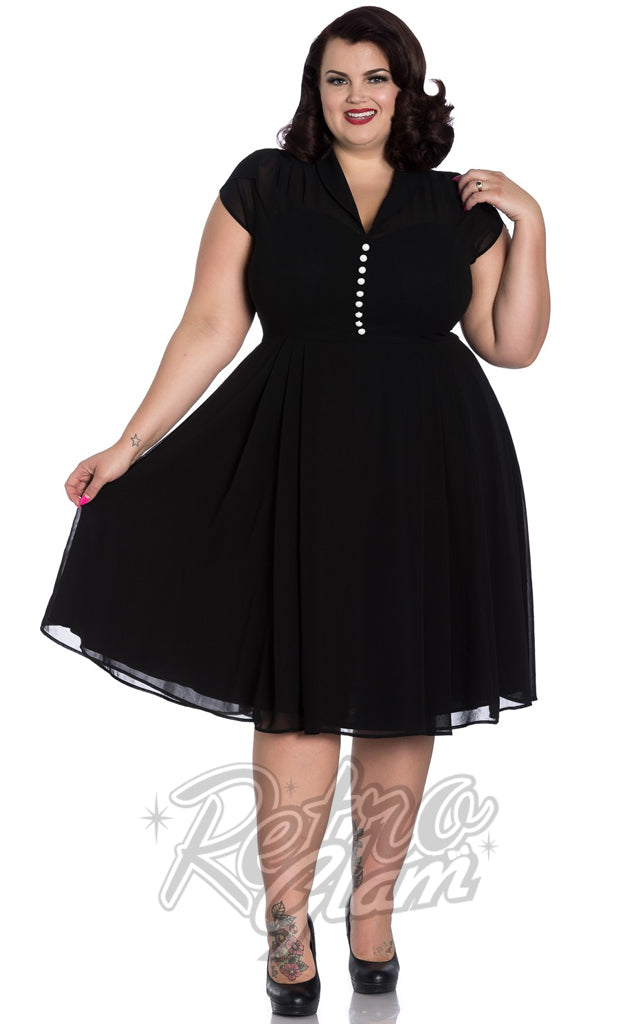 Hell Bunny Paige Dress in Black