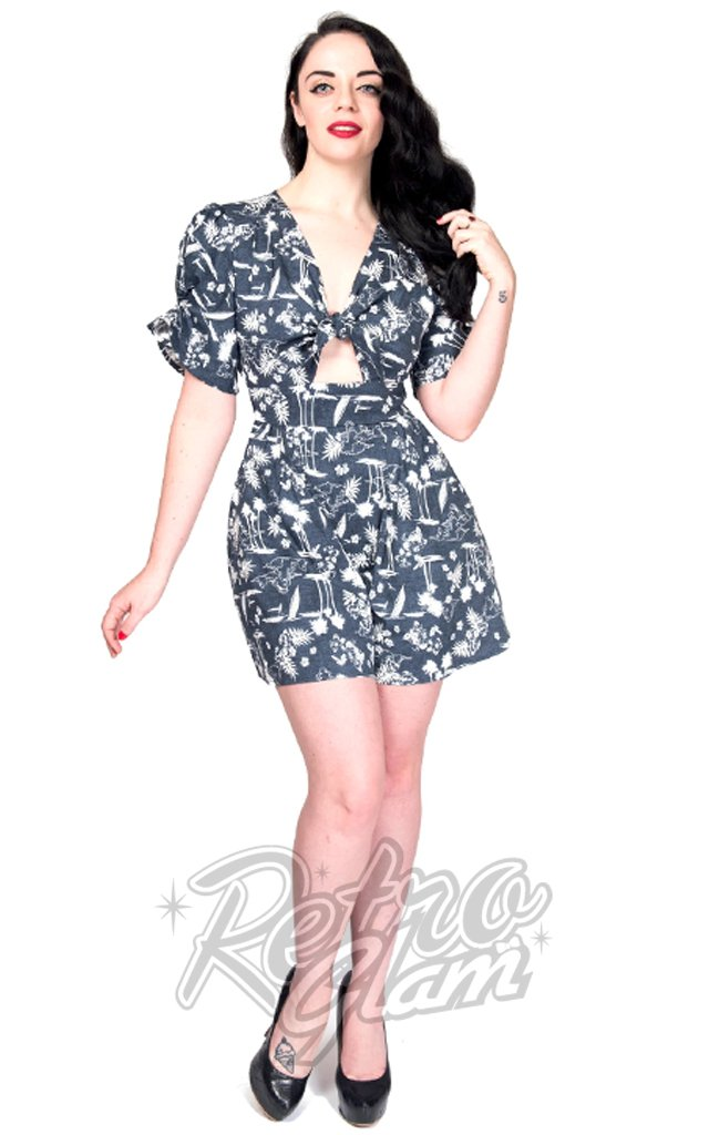 Rebel Love Bahama Mama Romper in Hawaii Night