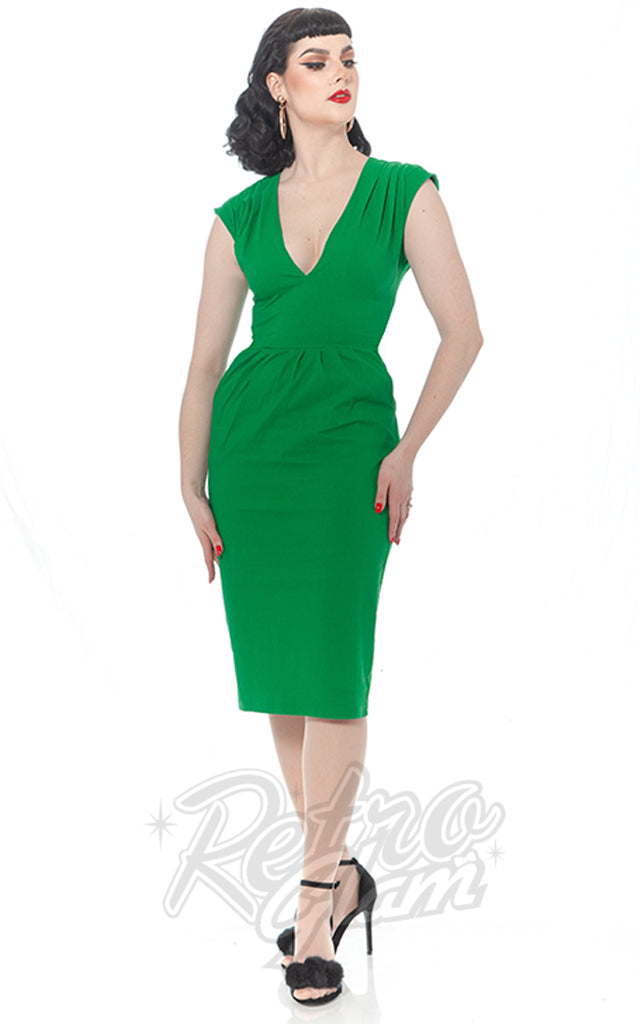 Rebel Love Femme Noir Dress in Green