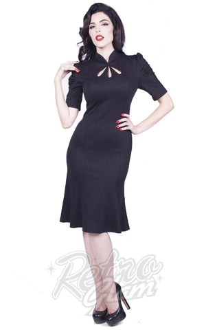 Rebel Jezebel Dress in Black