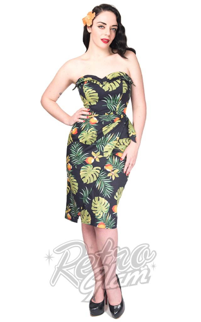 Rebel Love South Seas Sarong Dress in Palm Fruit