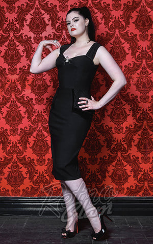 Rebel Love Black Widow Dress