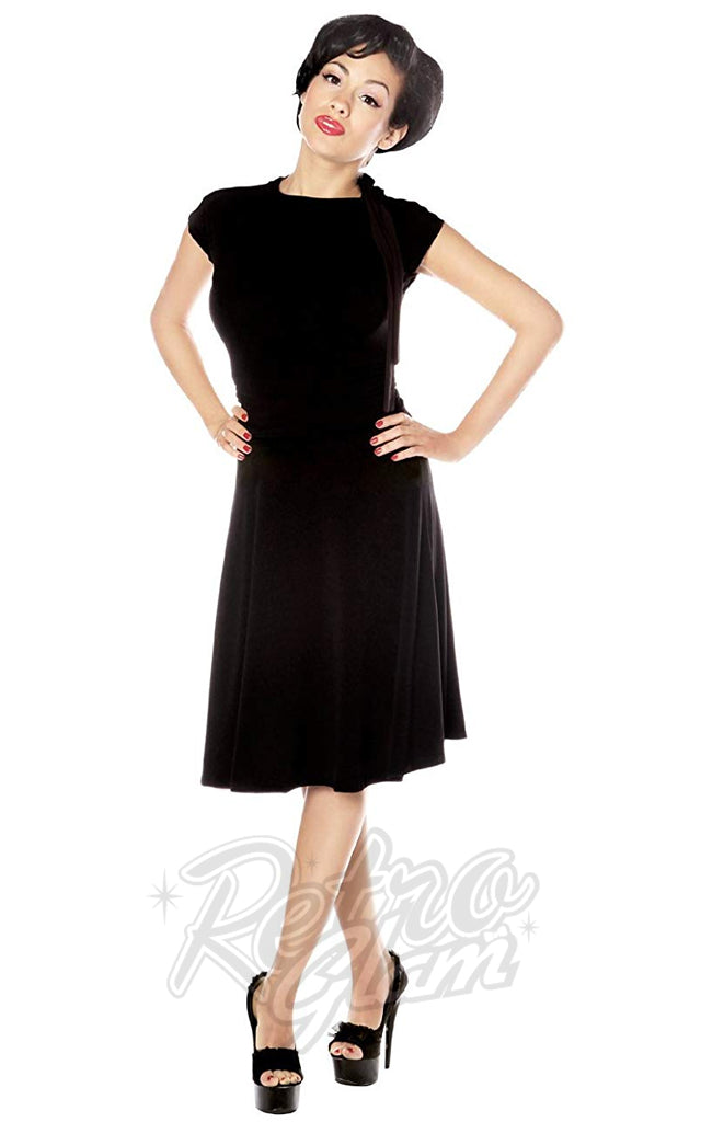 Retrolicious Bombshell Dress in Black